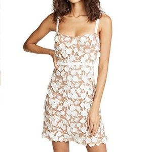 For Love & Lemons Beatrice Mini Dress NWT